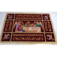 Плащаница Господская с Предстоящими 124х82 (средник 80x38)
