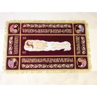 Плащаница Господская 110х70 (средник 76x32)