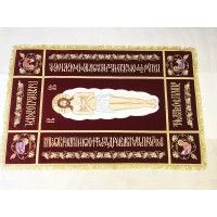 Плащаница Господская 170х110 (средник 110x50)