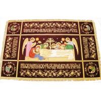 Плащаница Господская с Предстоящими 150x100 (средник 100х45)